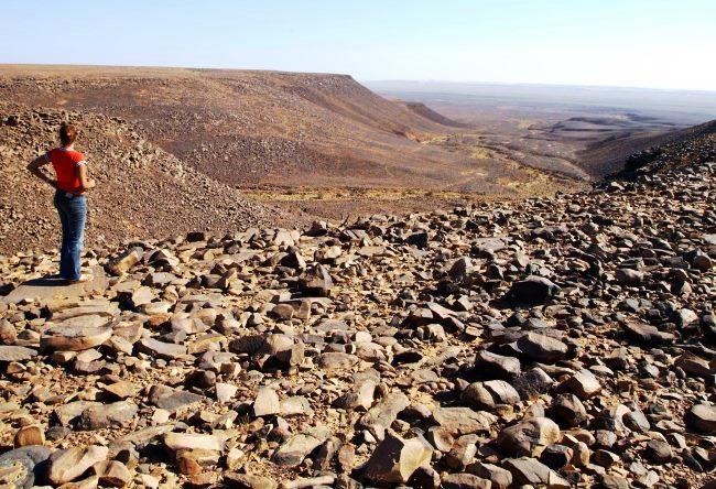 Eye of the Sahara desert Rishat structure 4