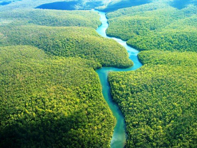 Самая длинная река на земле амазонка