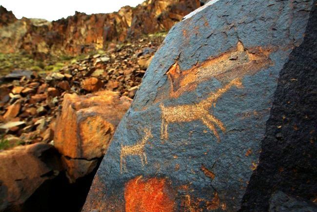 Reserve Altyn-Emel necropolis Besshatyr 2