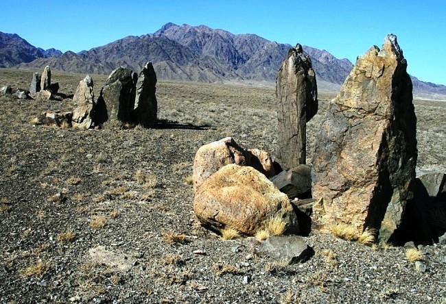 Reserve Altyn-Emel necropolis Besshatyr 5