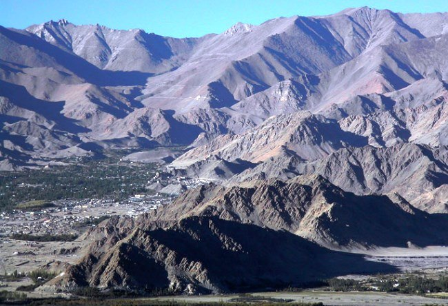 Ladakh is the highest point in India 3