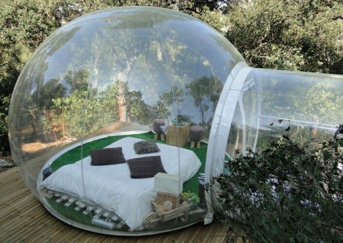Прозрачный отель Ловец снов 2