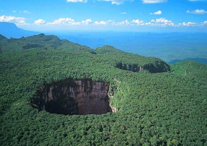 Тепуи. Национальный парк Канайма в Венесуэле 2
