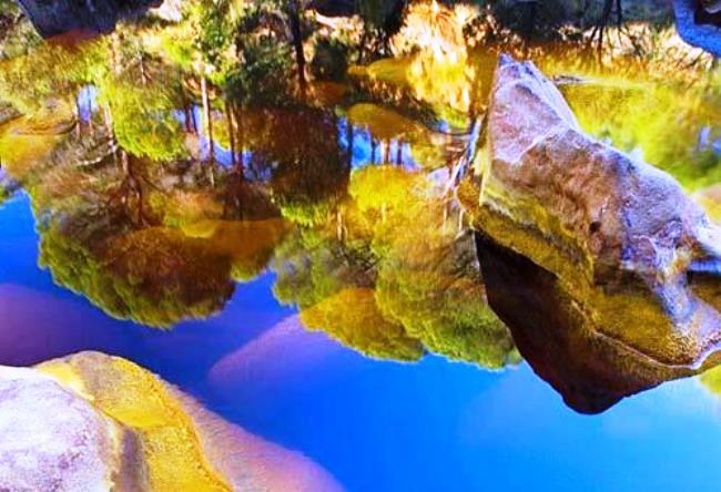 Красная река рио тинто в андалусии