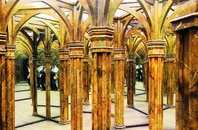 Выставка labyrinthum  предлагает своим посетителям разнообразные виды лабиринтов