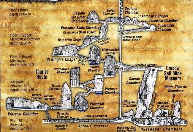 Wieliczkas Salt Mine 2