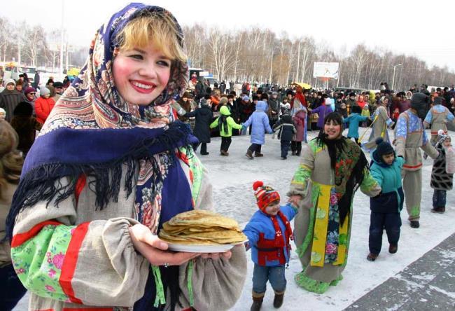 Maslenitsa a week before Lent cheese 2