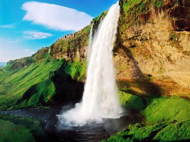 Исландия - страна водопадов