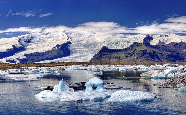 Ледяное озеро Ёкюльсаурлоун