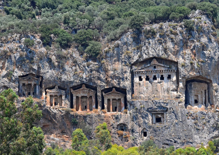 Древние гробницы 4