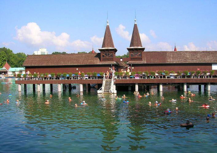 Озеро Хевиз 2