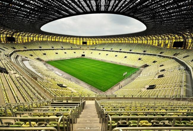 Высококлассный стадион в Гданьске 2