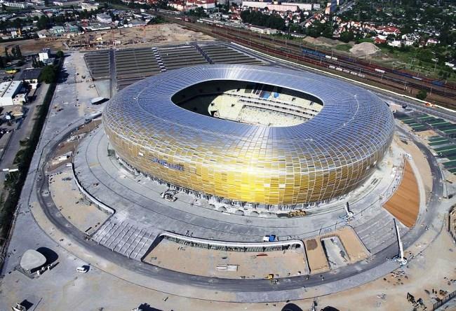 Высококлассный стадион в Гданьске 3
