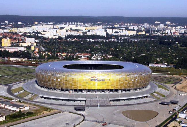Высококлассный стадион в Гданьске 4