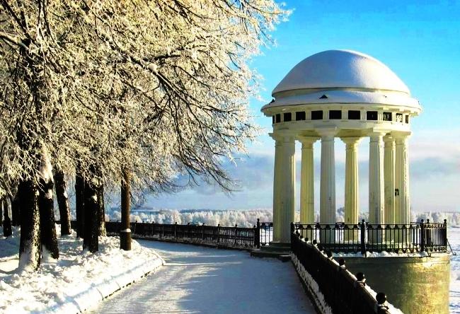 Зимний отдых в России 4