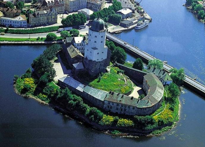 Интересные места Европы Выборгский замок 2