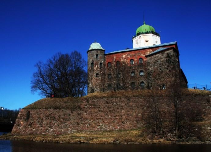 Интересные места Европы Выборгский замок 3