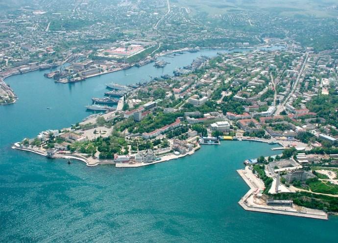 Мир туризма Артиллерийская бухта в городе Севастополь 3