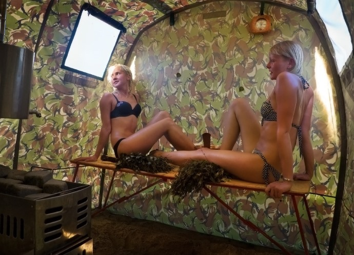 Мобильная баня 3