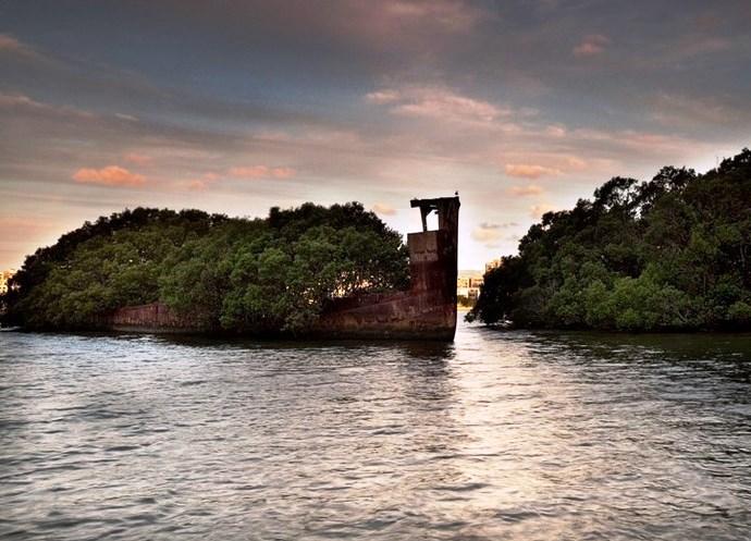 Старый корабль 4