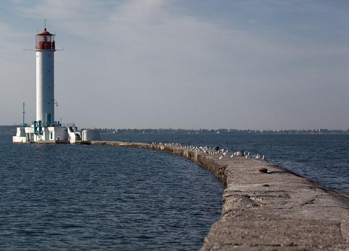 Путешествие по Одессе Воронцовский маяк 3