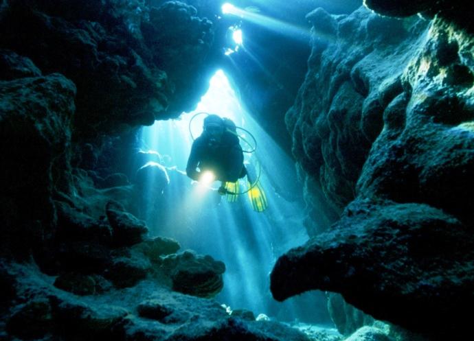 Экстремальный туризм под водой 3