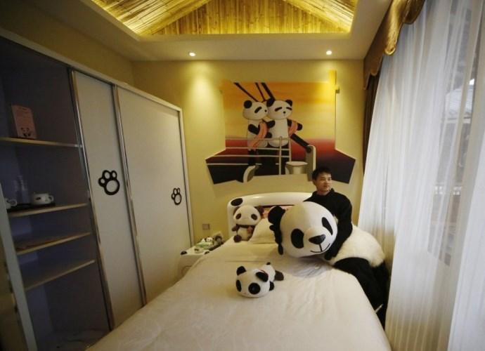 Интересные места Азии Panda Hotel  гостиница ставшая брендом 2