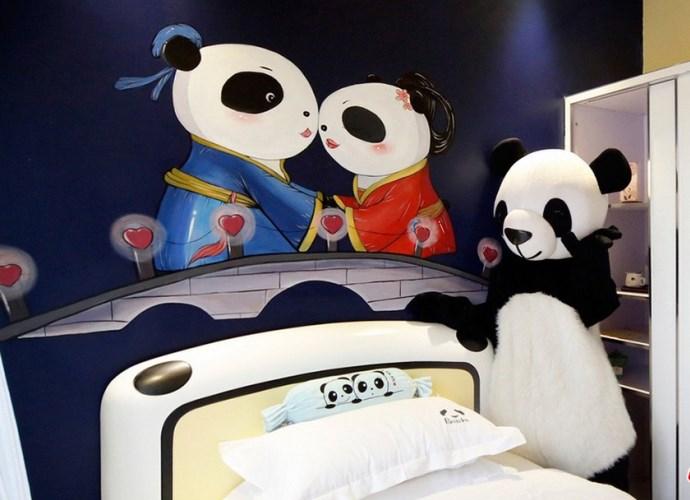 Интересные места Азии Panda Hotel  гостиница ставшая брендом 5
