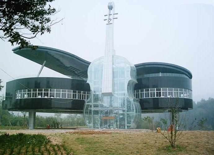 Достопримечательности Азии дом музыкальных инструментов 2