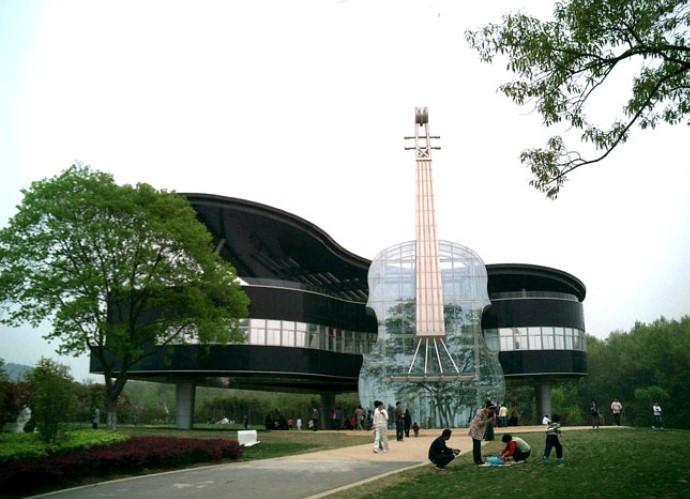 Достопримечательности Азии дом музыкальных инструментов 4
