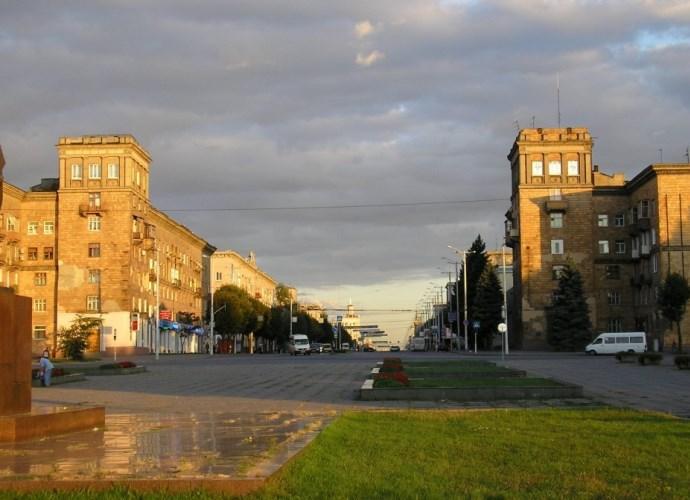 Интересные места Европы великий город Запорожье  5