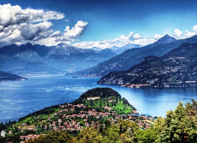 Интересные места Европы: озеро Комо
