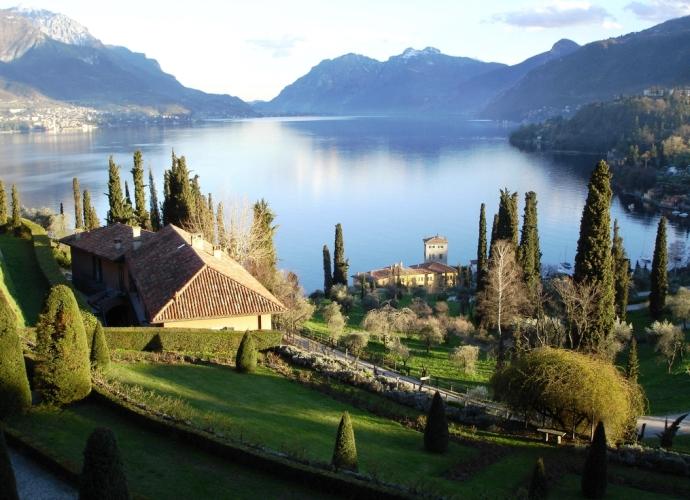 Интересные места Европы озеро Комо 3