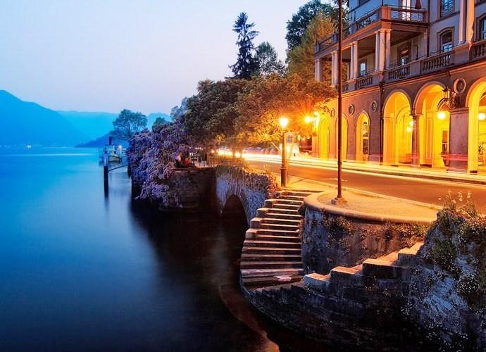 Интересные места Европы озеро Комо 5