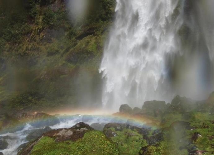 Самый большой водопад Новой Зеландии или путешествие Фродо 4