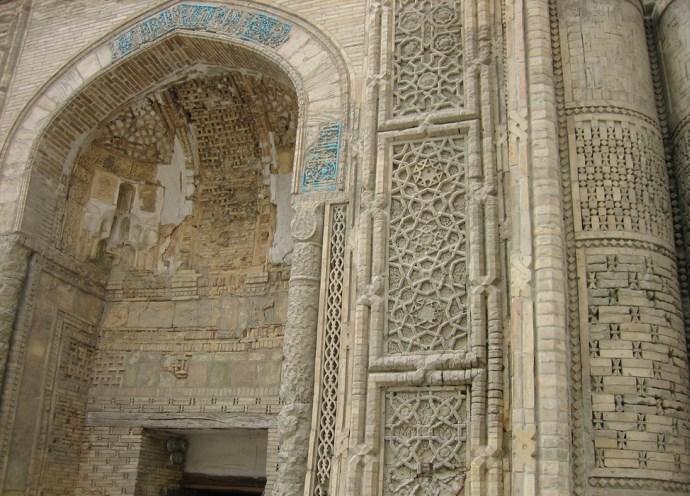 Интересные места Азии Мечеть Магок-Аттори в Бухаре 2