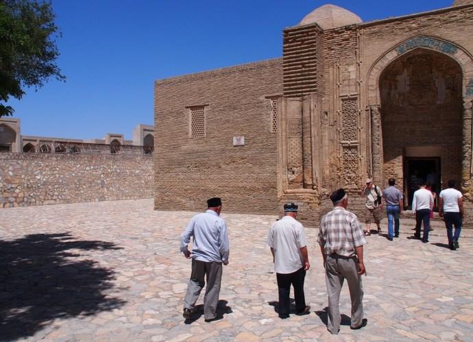 Интересные места Азии Мечеть Магок-Аттори в Бухаре 3