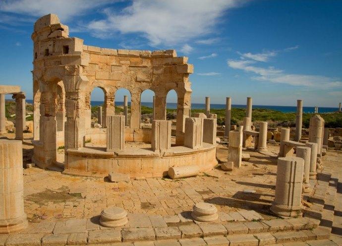 Интересные места Африки: древний античный город Лептис-Магна
