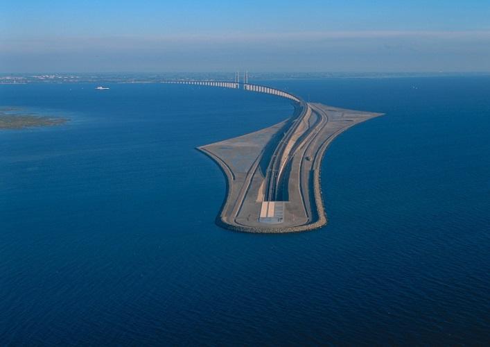 Интересные места Европы Эресуннский мост 4
