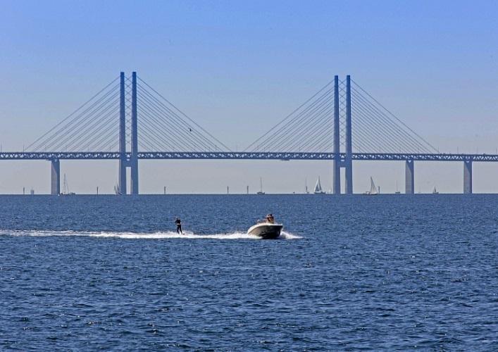 Интересные места Европы Эресуннский мост 5