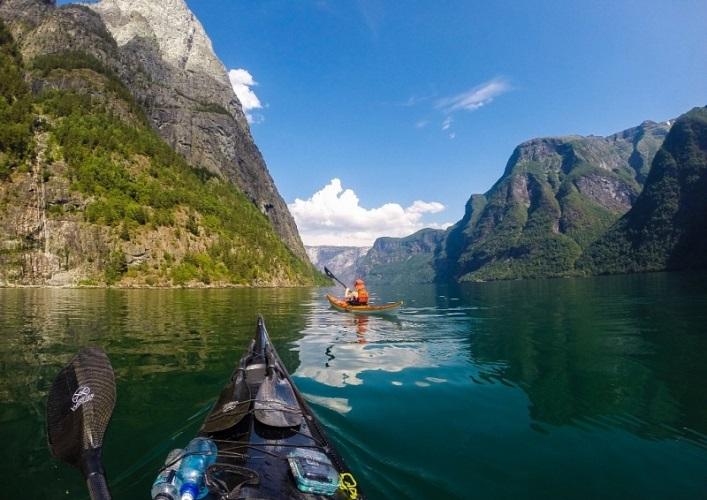 Норвегия  путешествие на байдарке 2