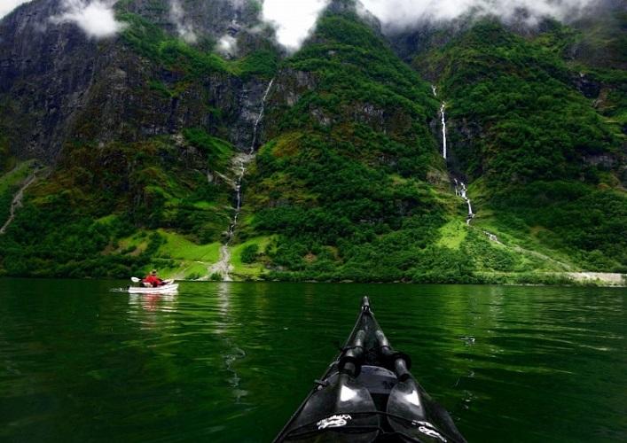 Норвегия  путешествие на байдарке 3