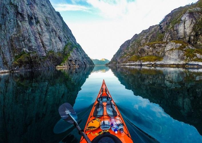 Норвегия  путешествие на байдарке 5