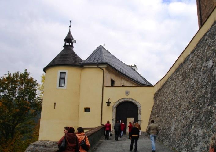 Исторические памятники Европы Замок Чески-Штернберк 3
