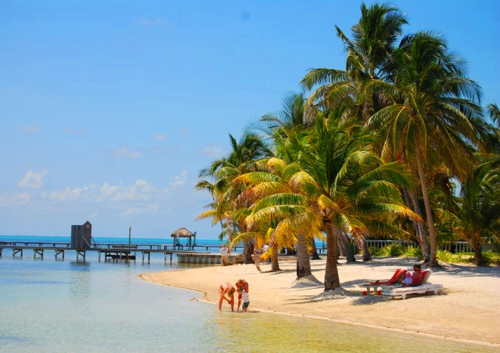Курорты Америки Амбергрис-Кей Ambergris Caye 4