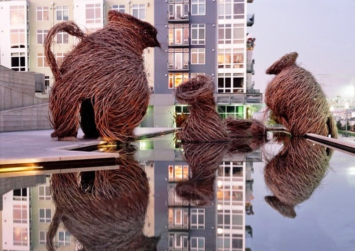 Путешествие в мир скульптур Патрика Догерти 3