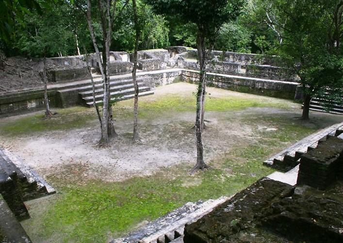 Путешествие по Америке древний город майя Кахаль Печ 4