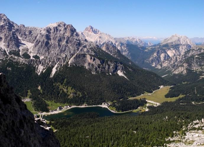 Пейзажи озера Мизурина или путешествие в Доломитовы Альпы 2