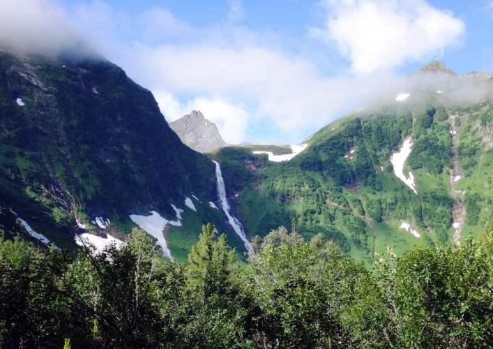 Кинзелюкский водопад 3