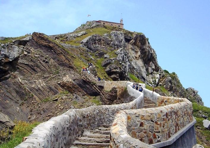 Остров Сан Хуан де Гастелугаче или путешествие по Европе 4